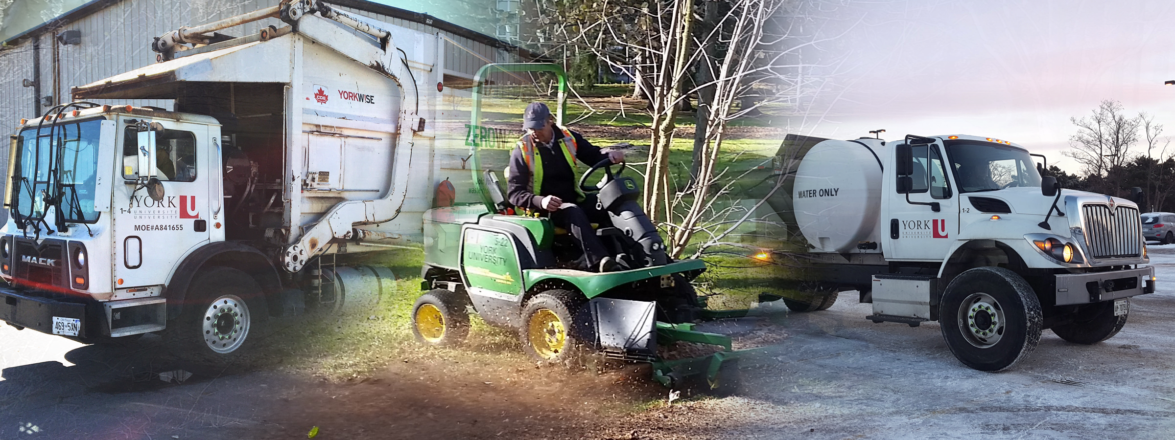 Grounds maintaining our campuses